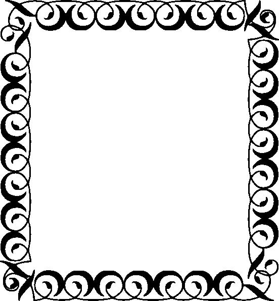 clip art library download Vector computer border. Black star clip art