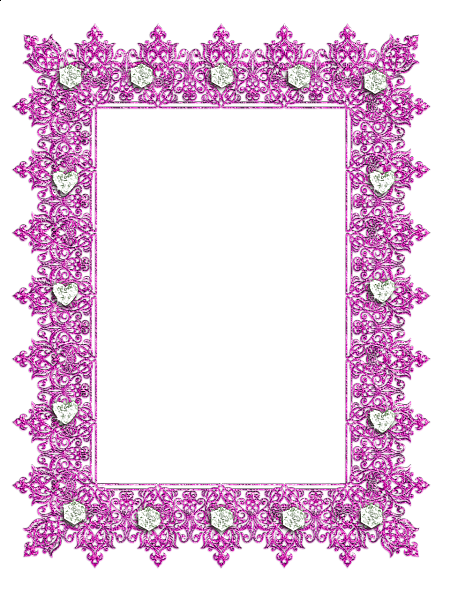 graphic transparent library Borders clipart diamond. Pink transparent frame with.