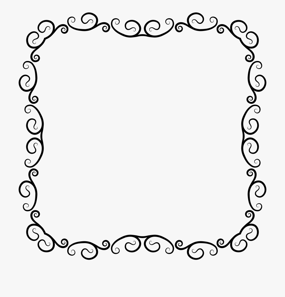 clipart freeuse Borders clipart free.  flourish western border.