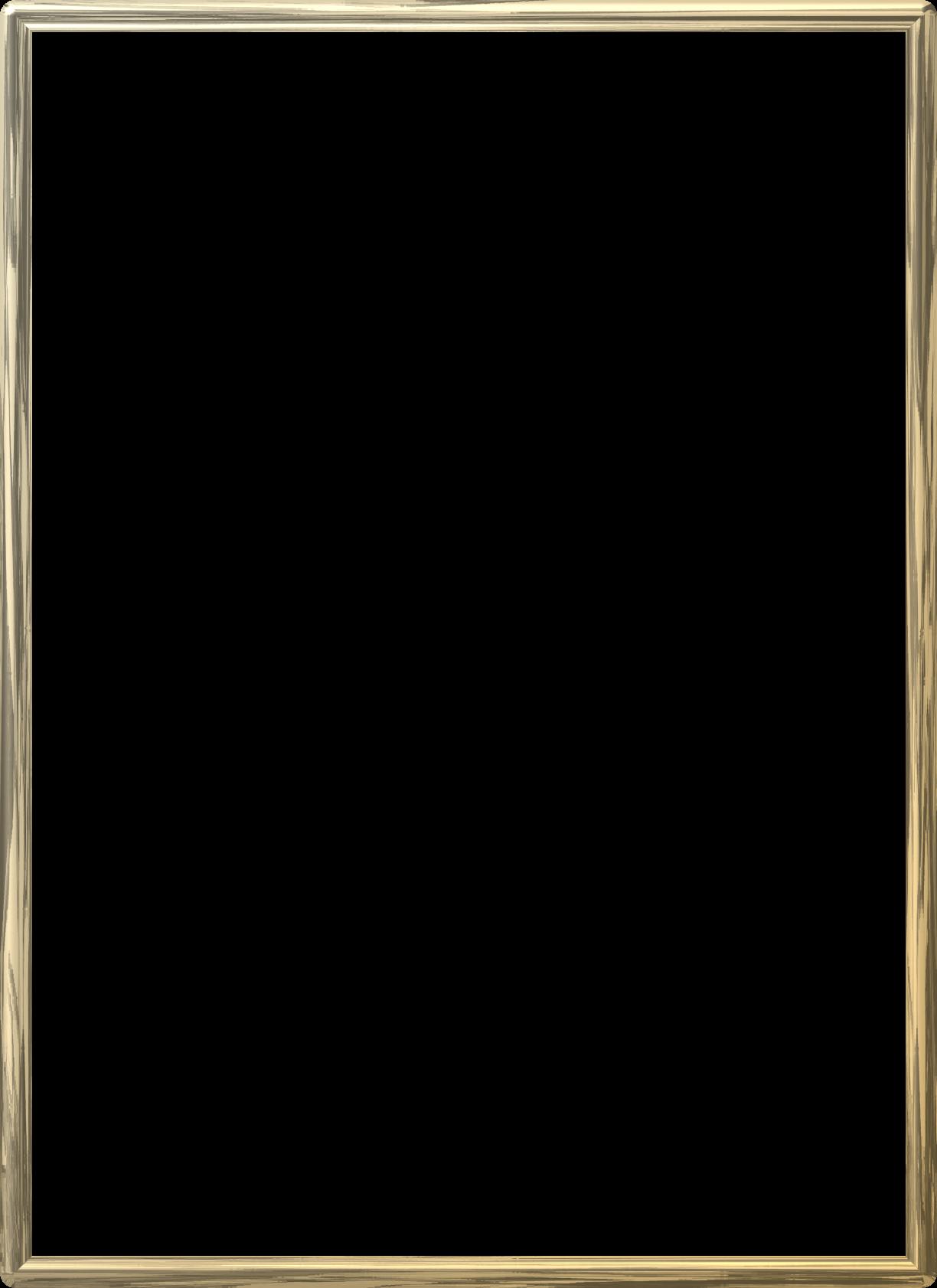 clipart royalty free stock Borders clipart plain. Gold frame border wooden