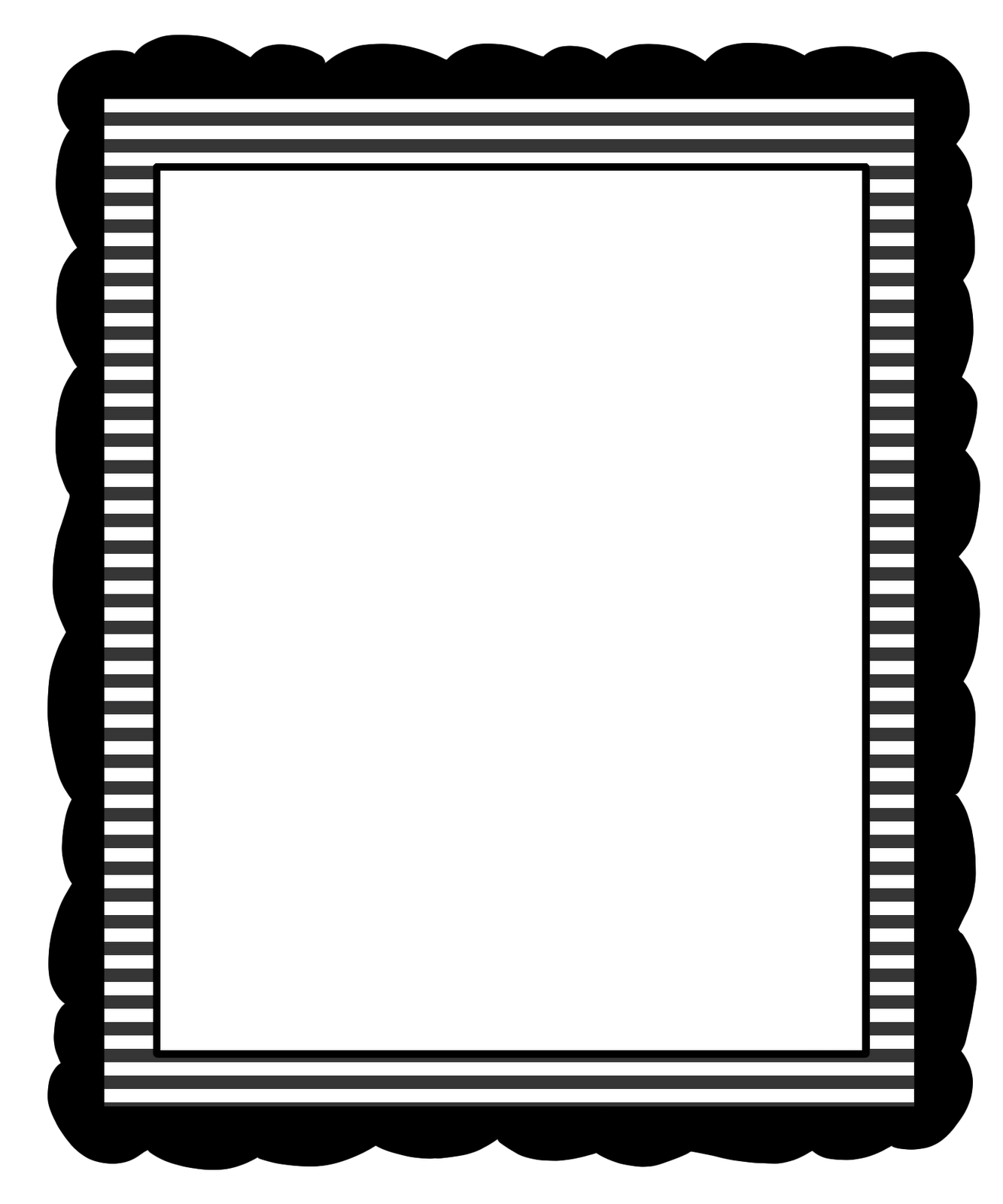 picture transparent library Ruffle Border Clipart
