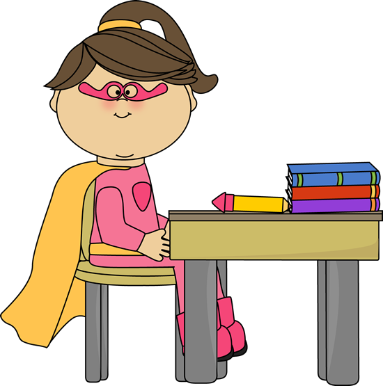 jpg black and white library Math clipart superhero. Writing academic papers in.