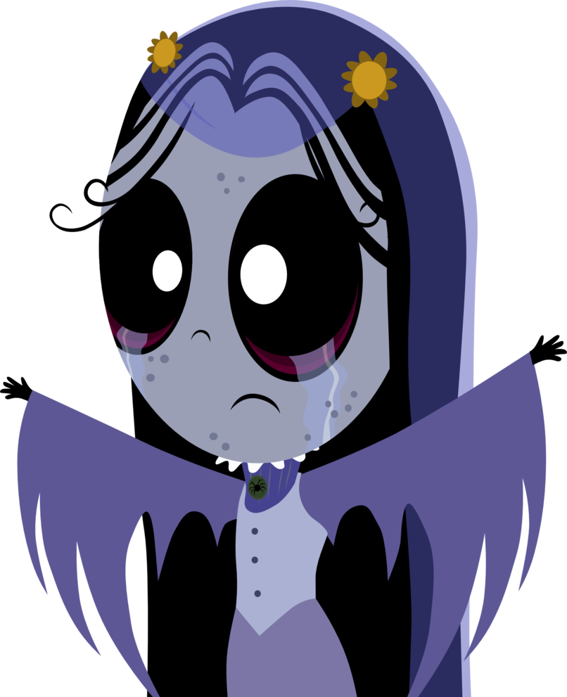 jpg freeuse library Ruby gloom vector by. Bored clipart misery