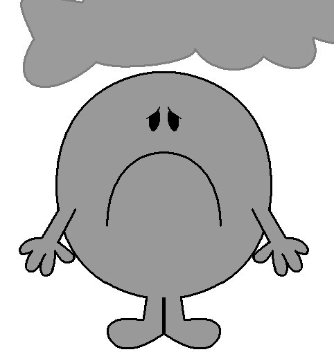 png black and white download Free miserable people cliparts. Bored clipart misery