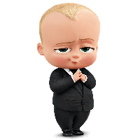picture free library Boss clipart baby. Download the free png