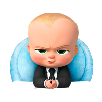 vector royalty free library Download the free png. Boss clipart baby