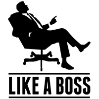 royalty free stock Boss clipart black and white. Download meme free png