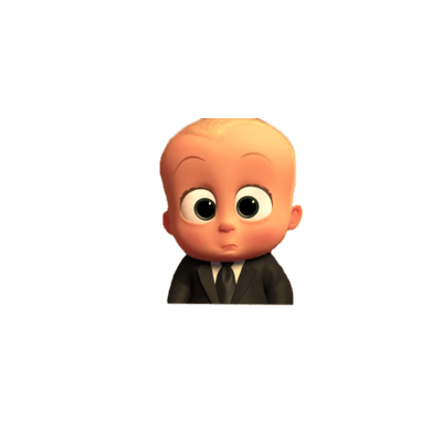 picture transparent library Baby big eyes transparent. Boss clipart boss chair