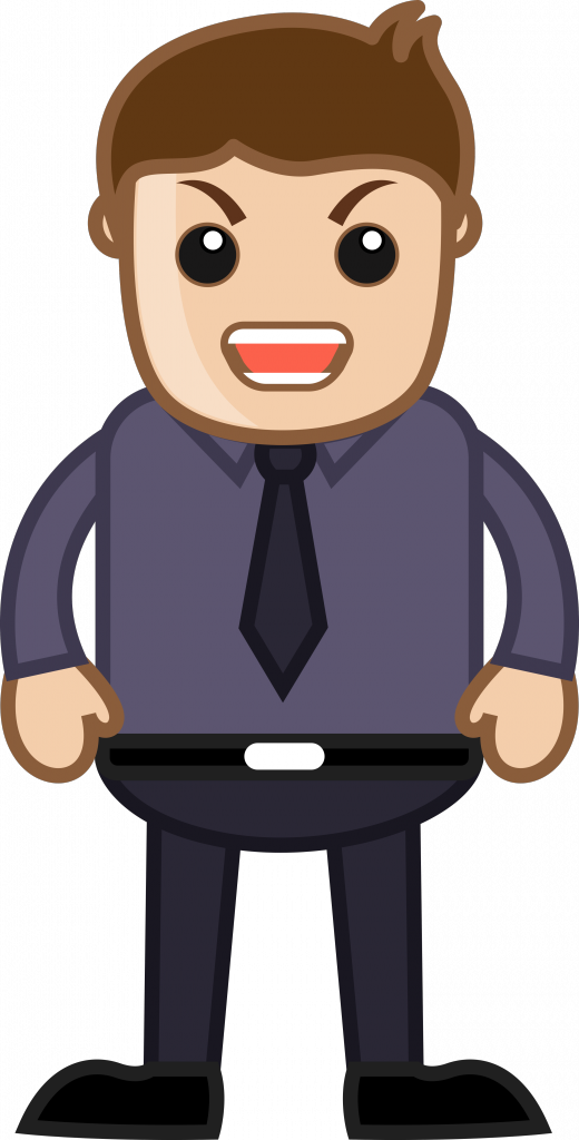 clip library download Images of angry person. Boss clipart mad.