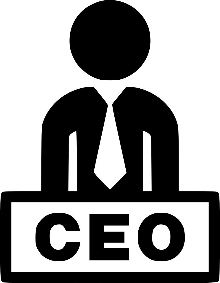 vector freeuse stock Boss clipart svg. Png black and white