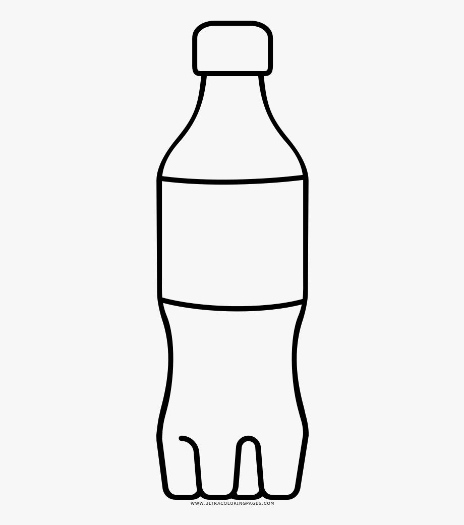 jpg freeuse Bottles line art coloring. Bottle clipart.