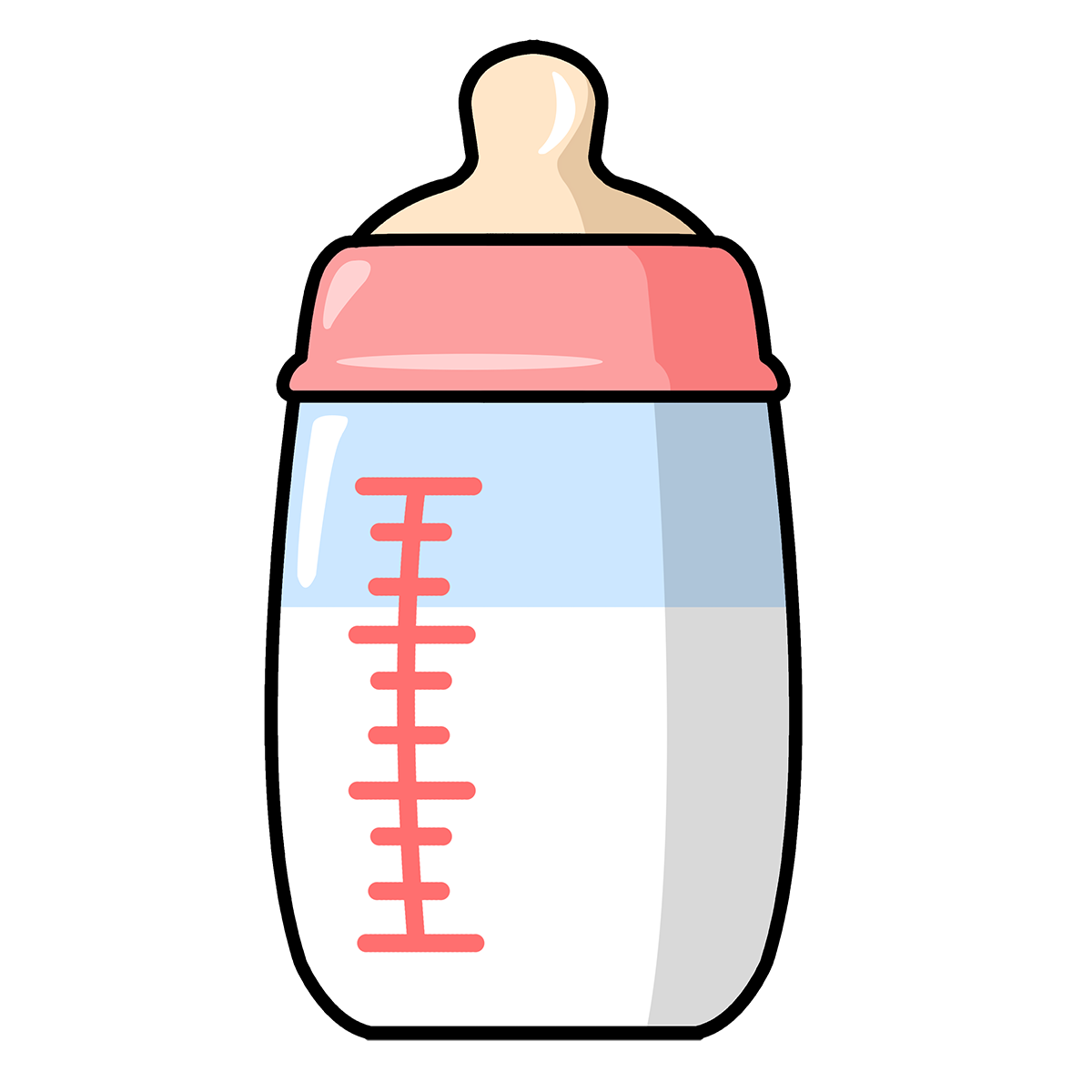 black and white library Bottle clipart. Free to use public