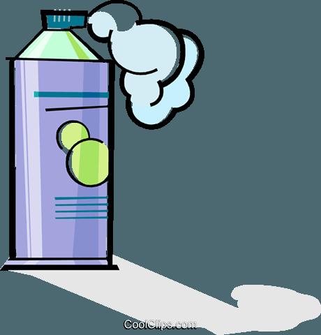 banner transparent stock Bottle Clipart cream