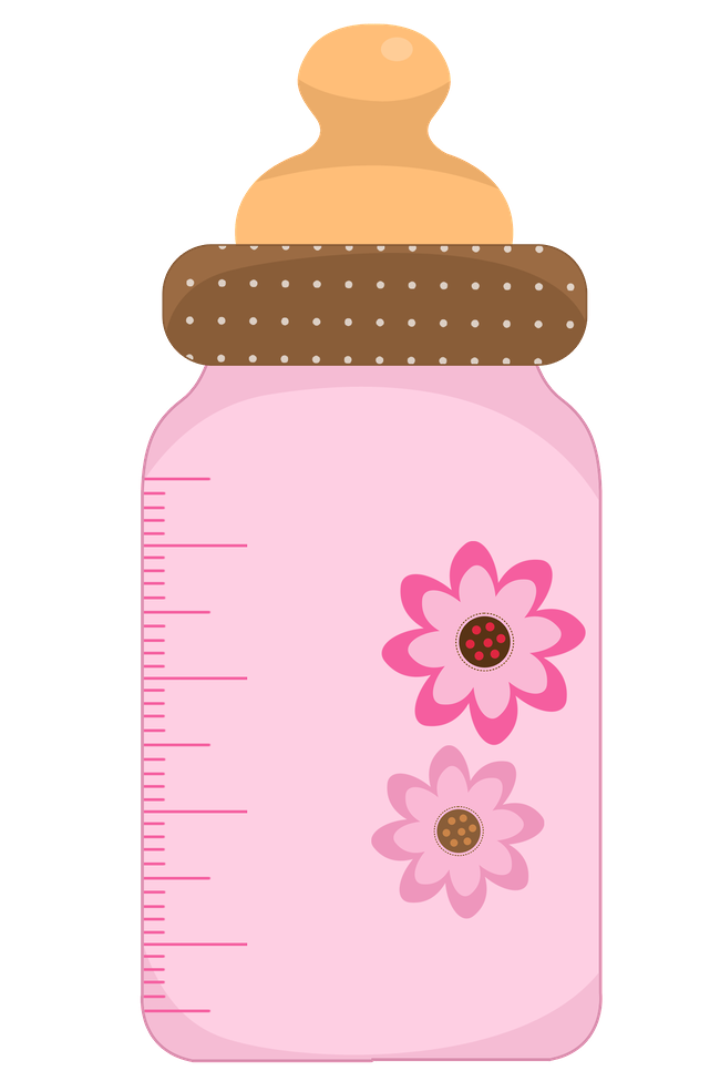 svg freeuse library Bottle clipart baby shower. Girl clip art pinterest