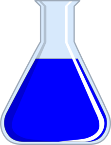image black and white library Flask clip art at. Bottle clipart chemistry
