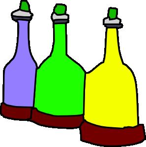 vector library download Cartoon bottles clip art. Bottle clipart glass jar
