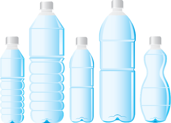 png stock Different styles of water. Bottle clipart pet bottle