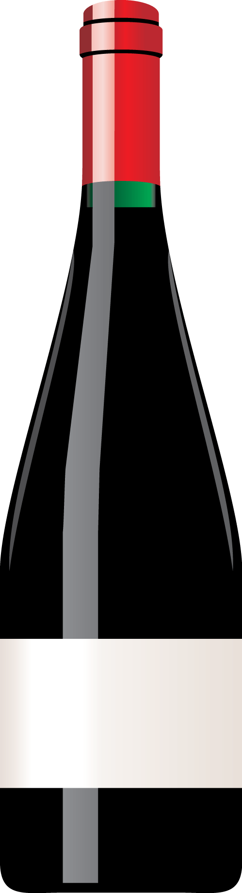 vector free download Bottle Of Wine Clipart transparent PNG