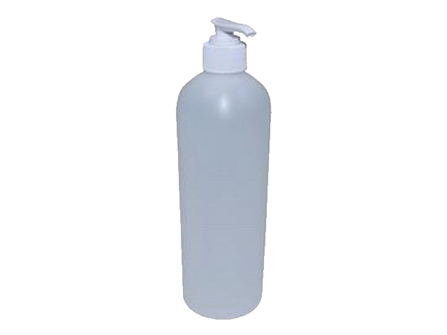 clip library stock Clear Empty Plastic Bottle w