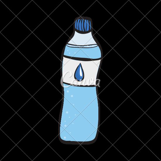 jpg royalty free Water Bottle Drawing at GetDrawings