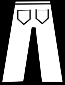 svg royalty free library Pants Clip Art at Clker