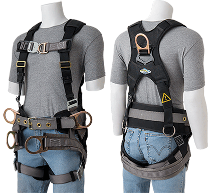 library bottoms clip safety harness #90733786