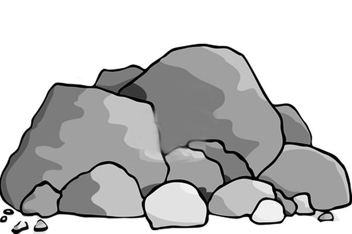 vector transparent Free download best on. Boulder clipart