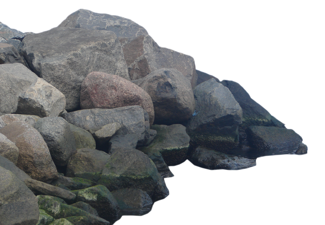 transparent stock Boulder clipart broken rock. Transparent .