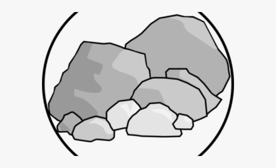 clip freeuse Boulders rocks cliparts . Boulder clipart broken rock.