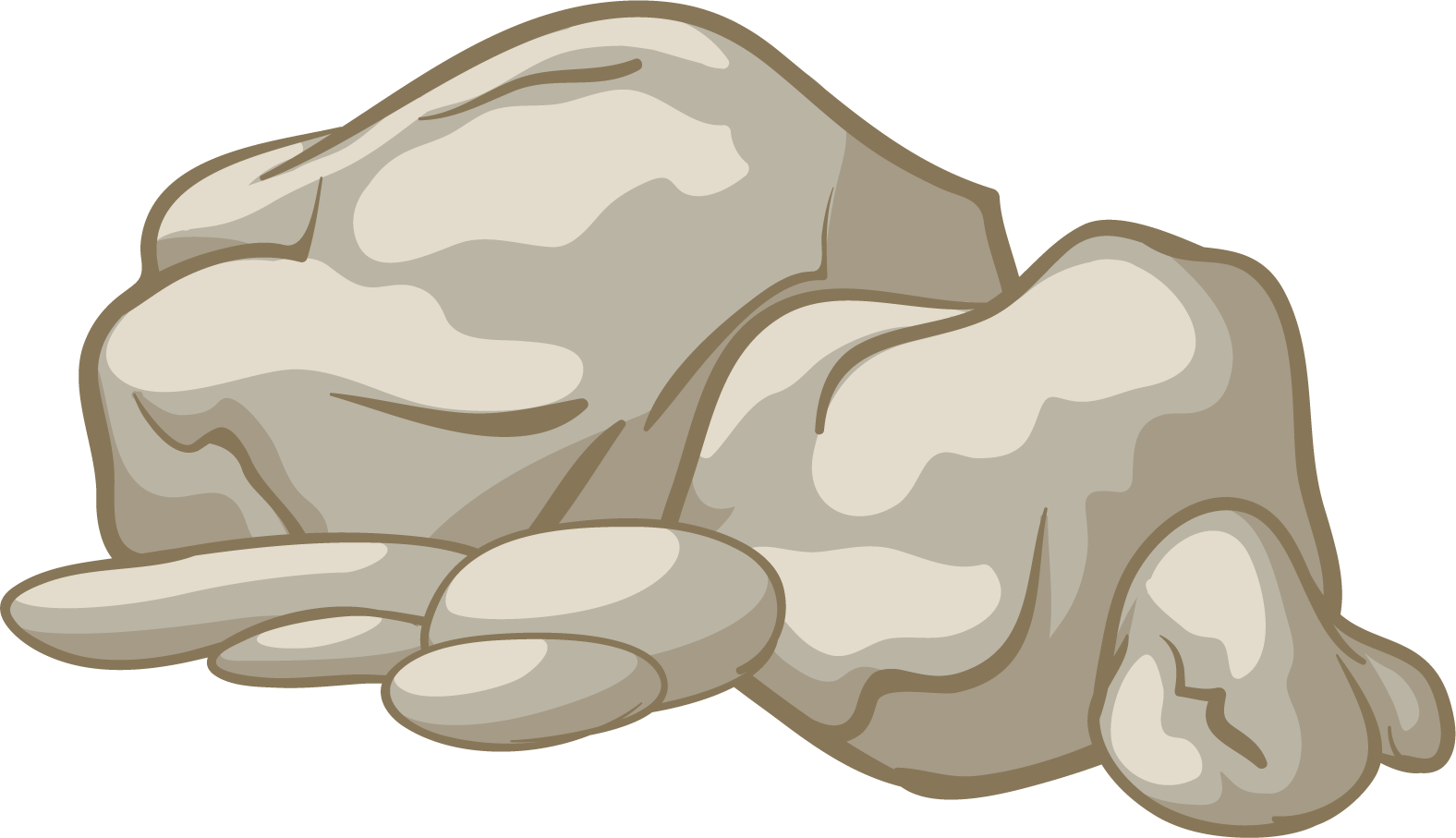 banner royalty free stock Boulder clipart broken rock. Png transparent free images.