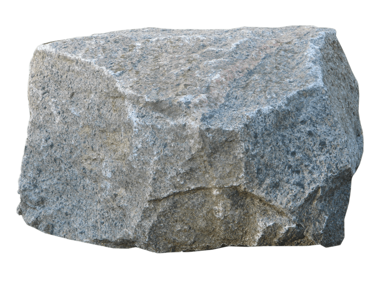 stock Large stone transparent png. Boulder clipart granite