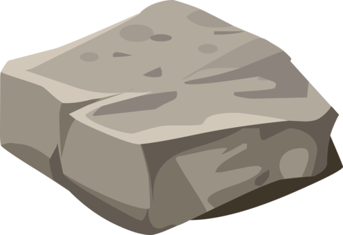 clipart library stock Rock download free commercial. Boulder clipart granite