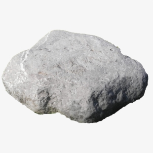 image black and white library Boulder clipart hard stone. Png rock cliparts cartoons.