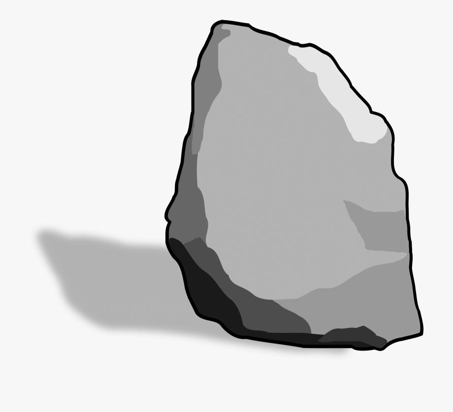 banner freeuse library Clip art on rocks. Boulder clipart hard stone.