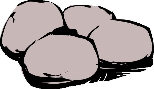 vector royalty free stock Boulder clipart hard stone. Boulders panda free images