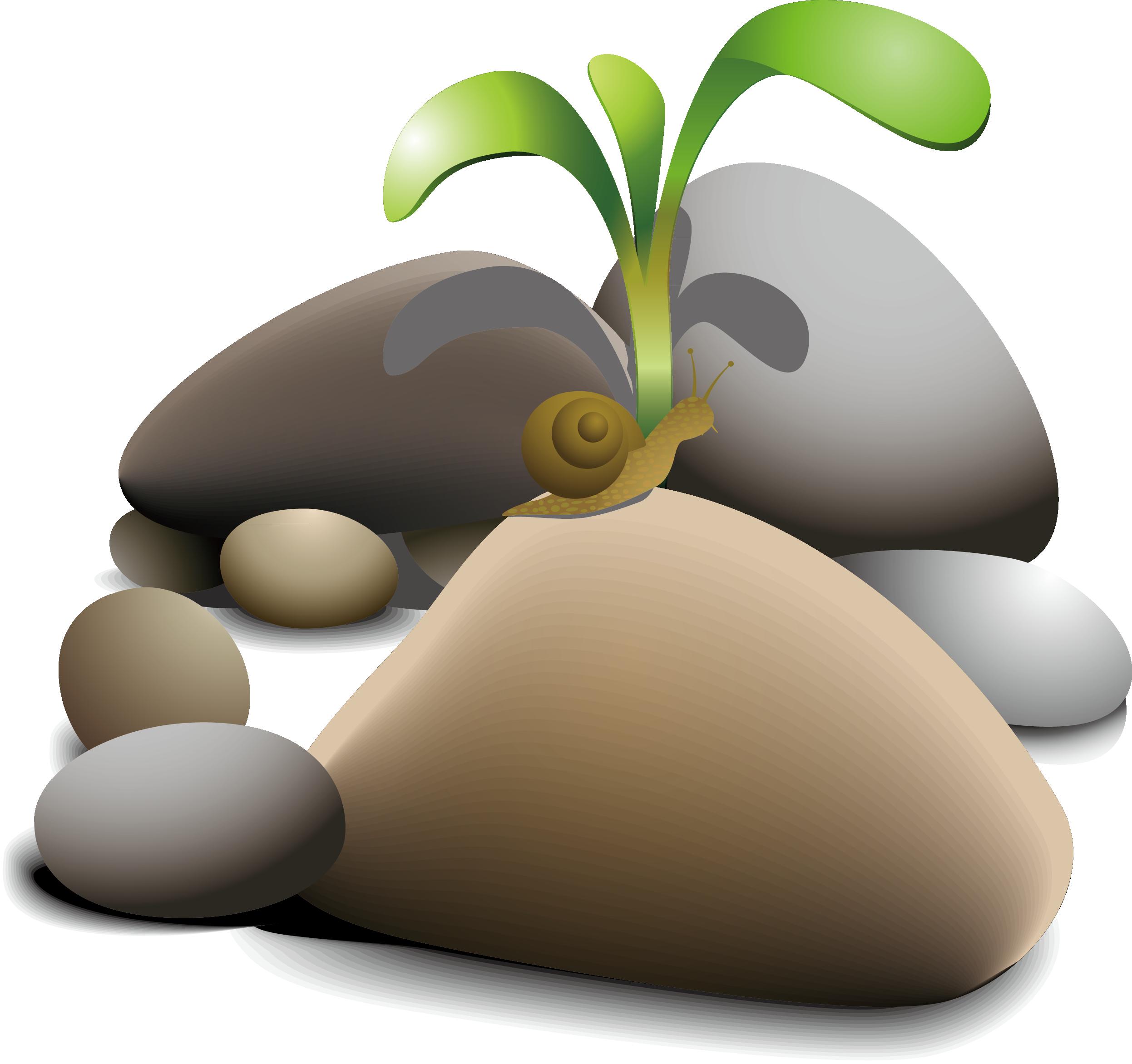 banner library download Rock Boulder Pebble Clip art