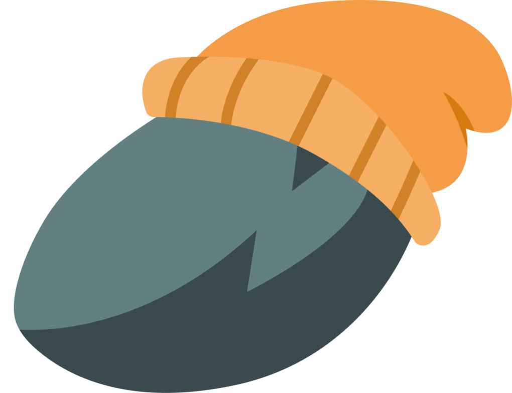 image free Boulder clipart illustration. In a hat by