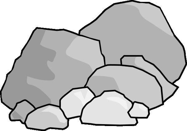 graphic transparent stock Boulder clipart transparent. Rock free content clip.