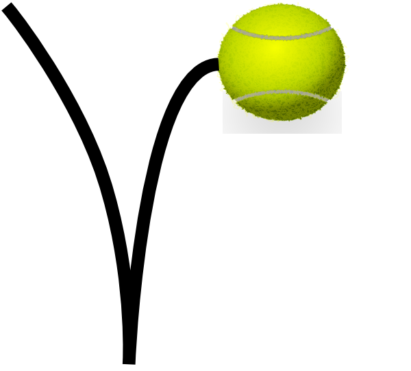 jpg free download Tennis ball clip art. Bounce clipart.