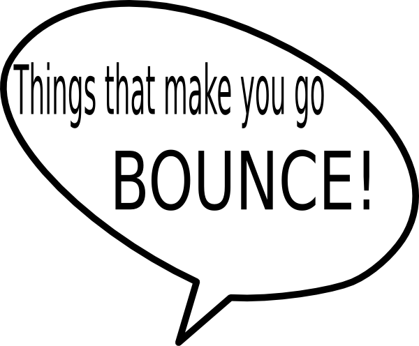 clip transparent download Bounce clipart. Things that make you.