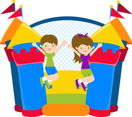 clip art royalty free download Bounce clipart. Zany entertainments house denver.