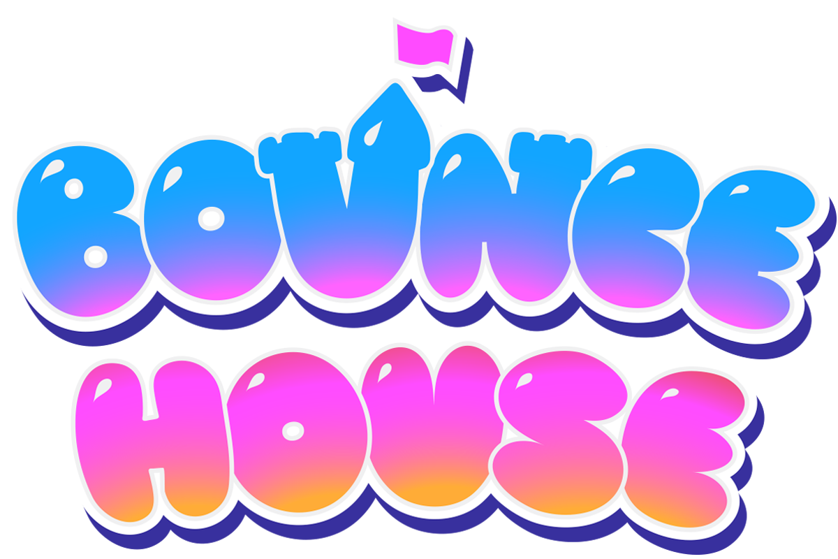 image royalty free download Bounce clipart. House heroes logo.