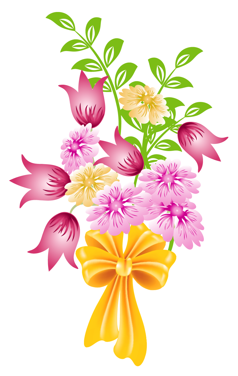jpg freeuse library Flower Bouquet Clipart