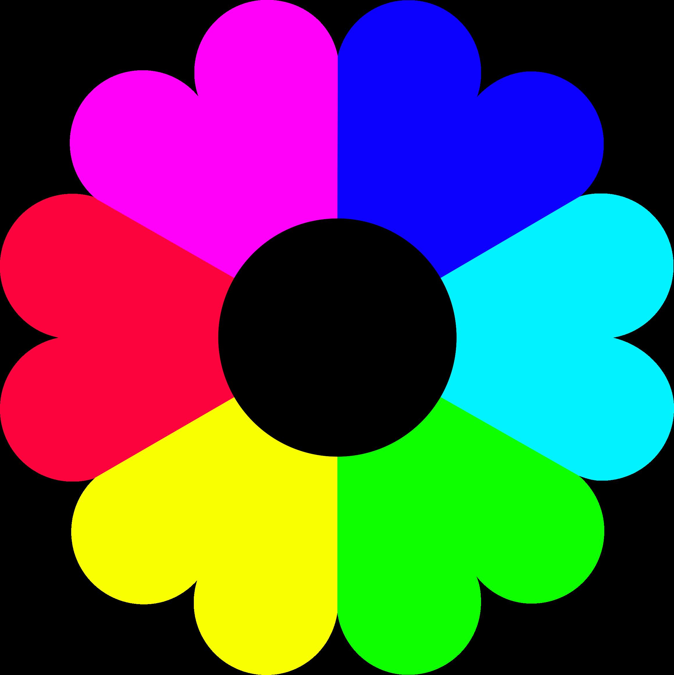 svg freeuse Bouquet clipart colour flower. Flowers color detailed free
