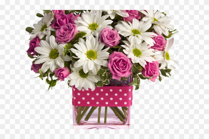 free Hd png . Bouquet clipart flower bucket.