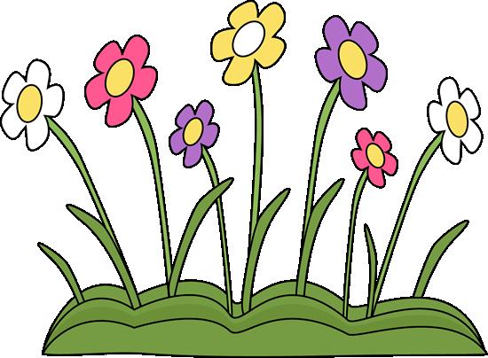 clip art royalty free Calendar clipart spring. Flower patch gardening for.