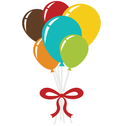 clipart library stock Balloon birthday pinterest file. Bouquet clipart svg