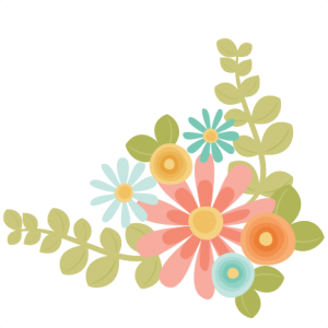 clipart royalty free library Bouquet clipart svg. Flowers scrapbook cut file