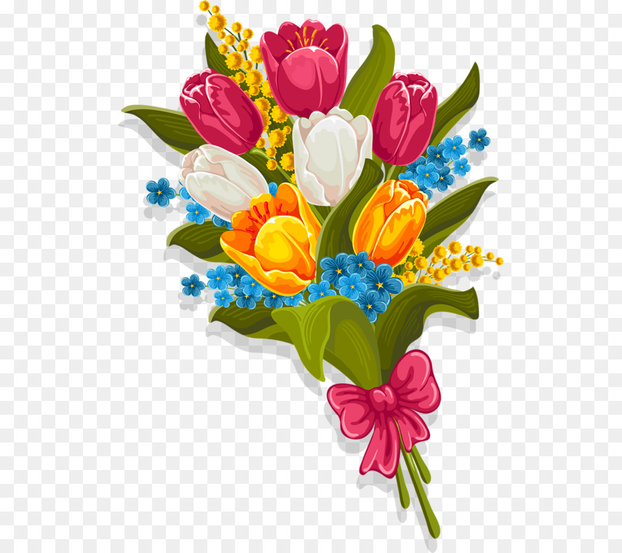 jpg free library Bouquet clipart tulip. Stock photography flower clip