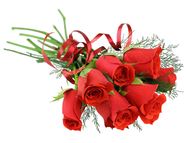 png transparent library Bouquet clipart valentines day rose. Red png picture gallery